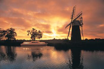Norfolk Broads régió